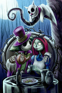 Nightmare in Wonderland Giclee Print