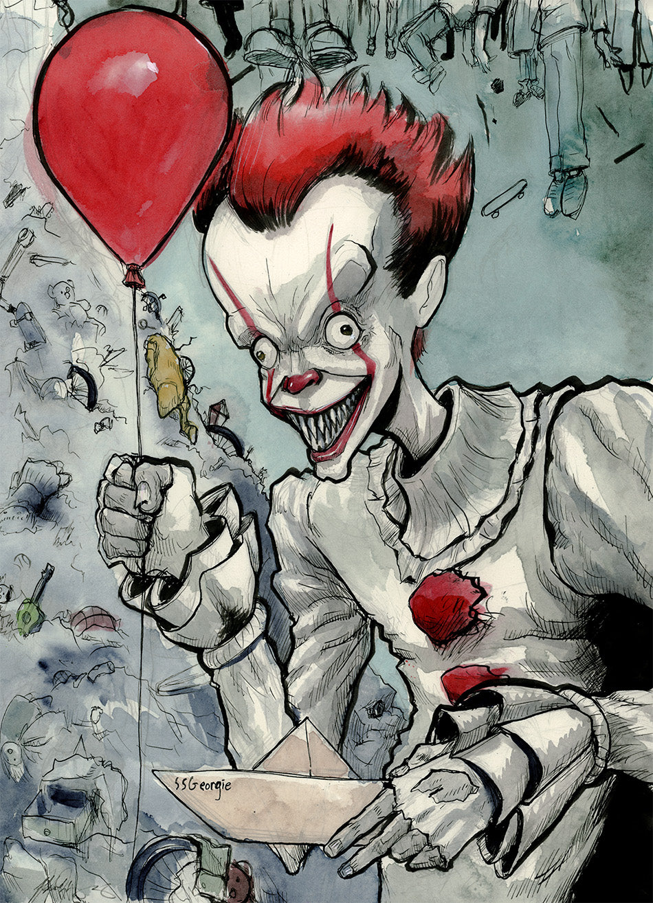 Pennywise Giclee Print