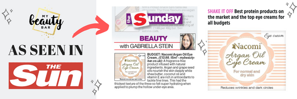 #InThePress | My Beauty Bar Feature In The Sun & Luxury Lifestyle Mag This Week