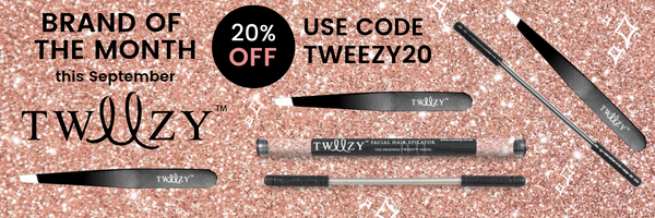 Hair Removal Made Easy With Tweezy | September Brand Of The Month & 20% OFF at My Beauty Bar UK