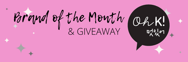 Brand of The Month and #GIVEAWAY: Oh K! at My Beauty Bar