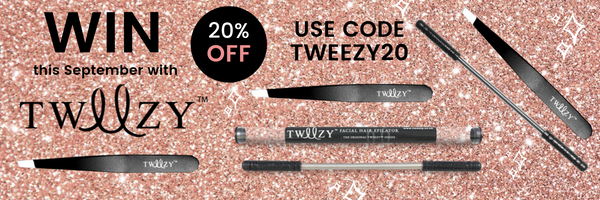 Shop Tweezy Facial Hair Removal Tools with 20% Off At My Beauty Bar UK