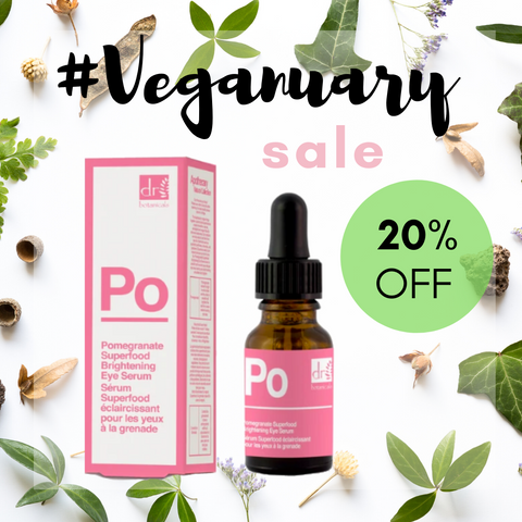 Dr Botanicals Pomegranate Eye Serum Veganuary Sale My Beauty Bar UK