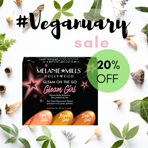 Melanie Mills Gleam On The Go 20% Off Veganuary Sale at My Beauty Bar UK