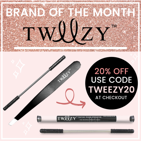 Shop Tweezy Hair Removal Accessories at My Beauty Bar UK