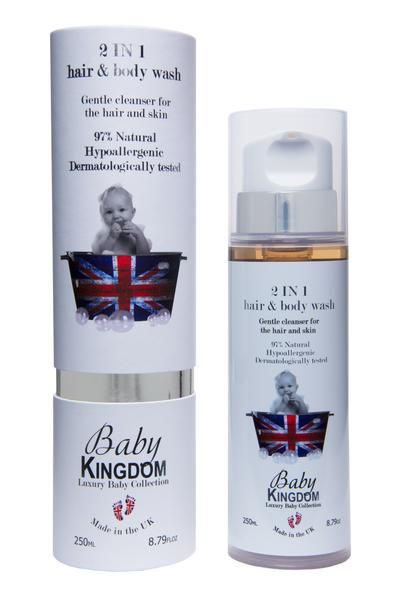Baby Kingdom 2-in-1 Hair & Bodywash, 250ml at MyBeautyBar.co.uk