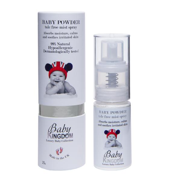 Baby Kingdom Baby Powder 25g, £11.95 at MyBeautyBar.co.uk
