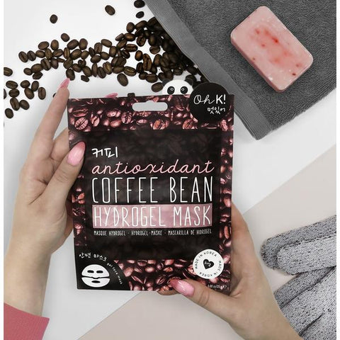 Oh K! Coffee Bean Hydrogel Mask, £8.50 at My Beauty Bar