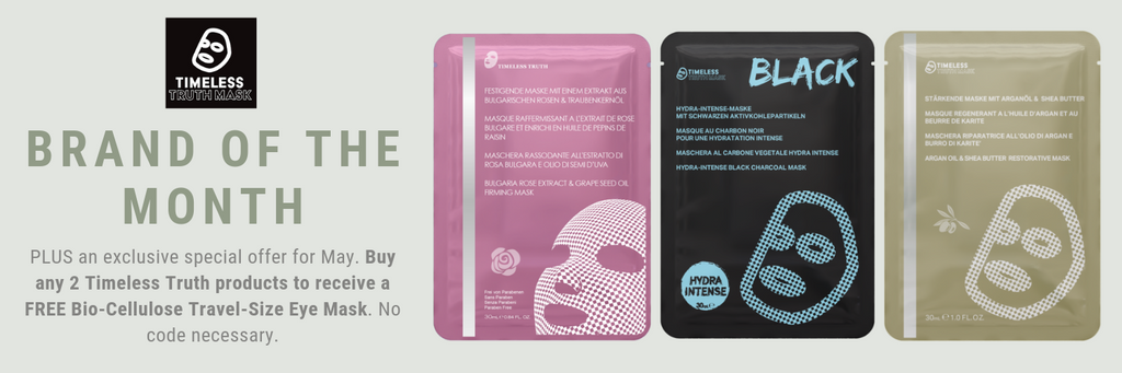 Shop Timeless Truth Skincare Sheet Masks at MyBeautyBar.co.uk - UK Stockist