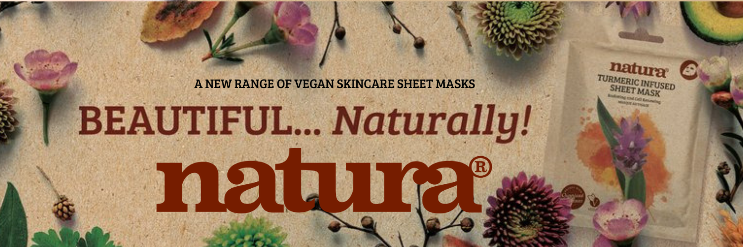 Natura Vegan Skincare Sheet Masks by BeautyPro at My Beauty Bar