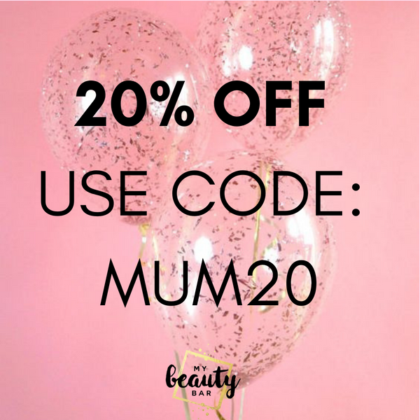 20% Off at My Beauty Bar for Mother's Day