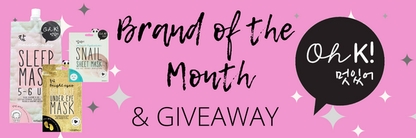 My Beauty Bar UK Brand of the Month Oh K! and Giveaway for Mother's Day