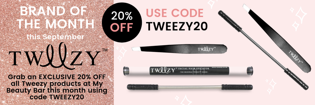 20% Off Tweezy Hair Removal Accessories at My Beauty Bar UK