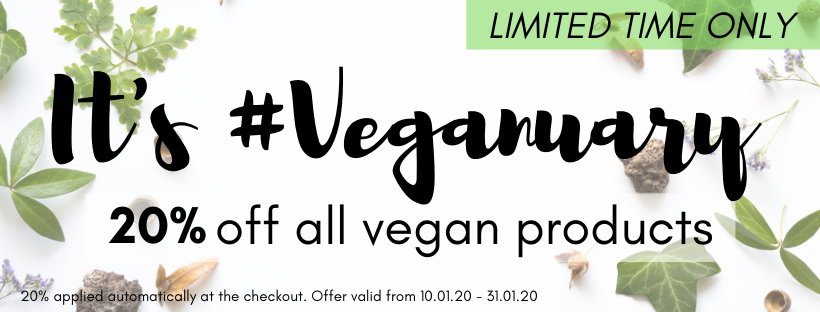 Save 20% in My Beauty Bar's Veganuary Sale