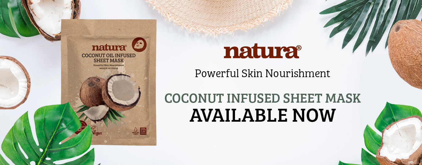 New Natura Coconut Infused Sheet Mask Now Available At My Beauty Bar