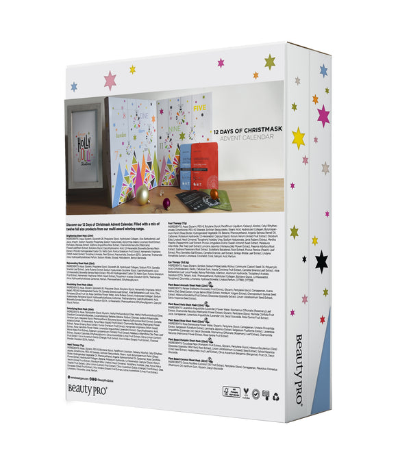 BeautyPro 12 Days of Christmask Advent Calendar