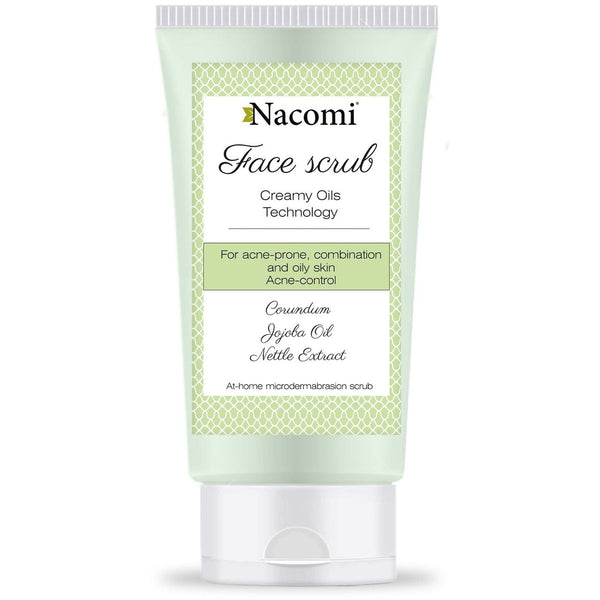 Nacomi Acne-Control Face Scrub, 85ml - MyBeautyBar.co.uk