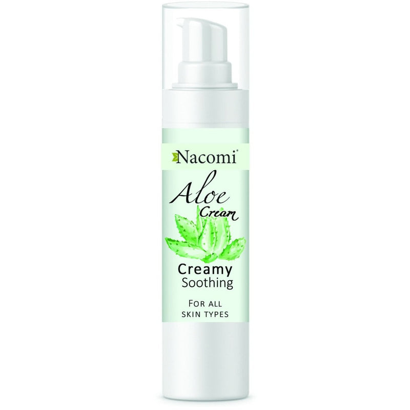 Nacomi Aloe Face Gel Cream, 50ml - MyBeautyBar.co.uk