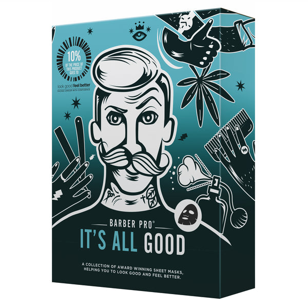 Barber Pro It's All Good Men's Gift Set