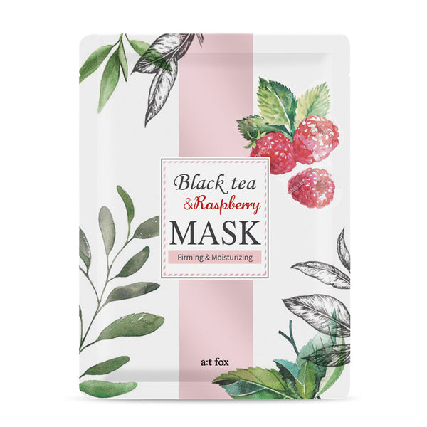 A;T FOX Firming Black Tea & Raspberry Mask, 20ml - MyBeautyBar.co.uk