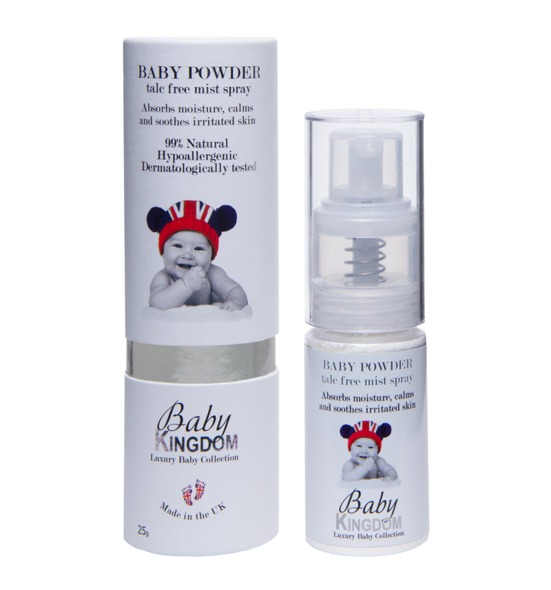Baby Kingdom Baby Powder, 25g - MyBeautyBar.co.uk