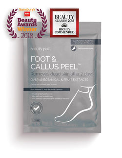 BeautyPro Foot & Callus Peel Foot Peeling Treatment, 1 Pack - MyBeautyBar.co.uk