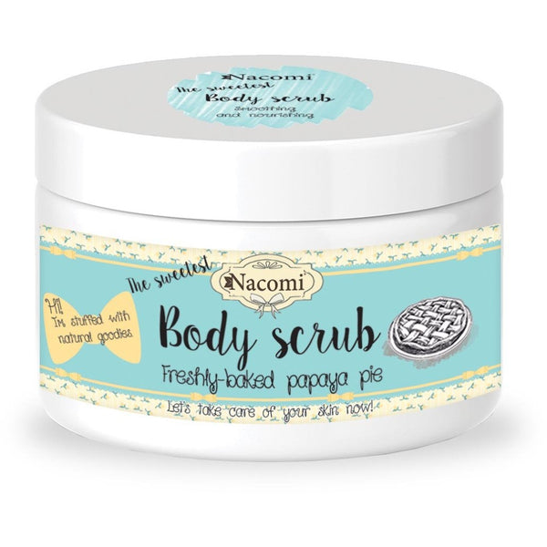 Nacomi Freshly Baked Papaya Pie Body Scrub, 200g - MyBeautyBar.co.uk
