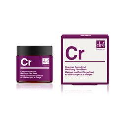 Dr Botanicals Charcoal Superfood Mattifying Face Mask, 50ml - MyBeautyBar.co.uk