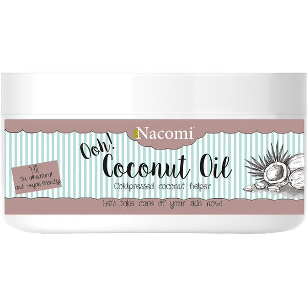 Nacomi Cold-Pressed Coconut Oil, 100ml - MyBeautyBar.co.uk