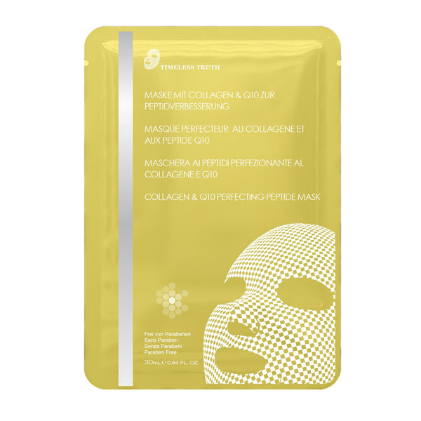 Timeless Truth Collagen & Q10 Perfecting Peptide Mask - MyBeautyBar.co.uk