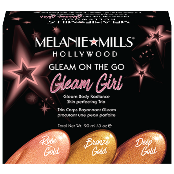 Melanie Mills Gleam on the Go 'Gleam Girl' Radiance Kit - MyBeautyBar.co.uk