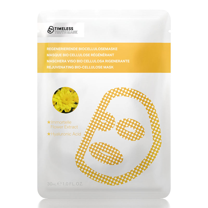 Timeless Truth Herbal Rejuvenation Immortelle Bio-Cellulose Mask - MyBeautyBar.co.uk