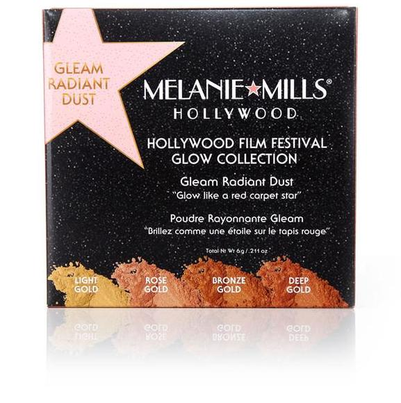 Melanie Mills Hollywood Hollywood Film Festival Glow Collection, Gleam Radiant Dust, UK Stockist, MyBeautyBar.co.uk