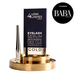Long4Lashes Gold Eyelash Serum - MyBeautyBar.co.uk