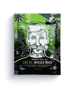 Barber Pro CBD Oil Infused Mask, 30g - MyBeautyBar.co.uk