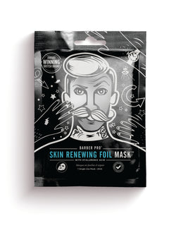 Barber Pro Skin Renewing Foil Mask, 30g - MyBeautyBar.co.uk