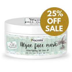 Nacomi Algae Face Mask - Acne Fighting Tea Tree Oil, 42g