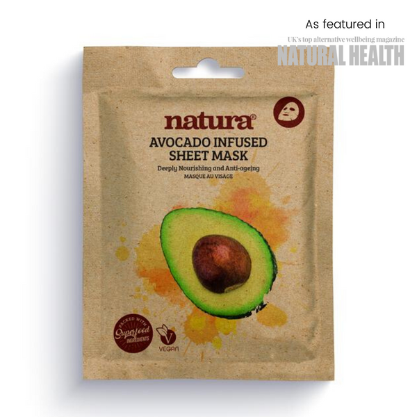 Natura Avocado Infused Sheet Mask - MyBeautyBar.co.uk