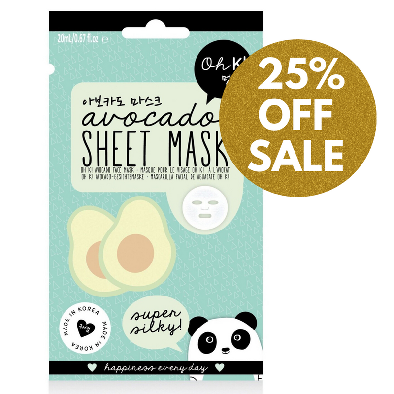 Oh K! Avocado Sheet Mask, 20ml