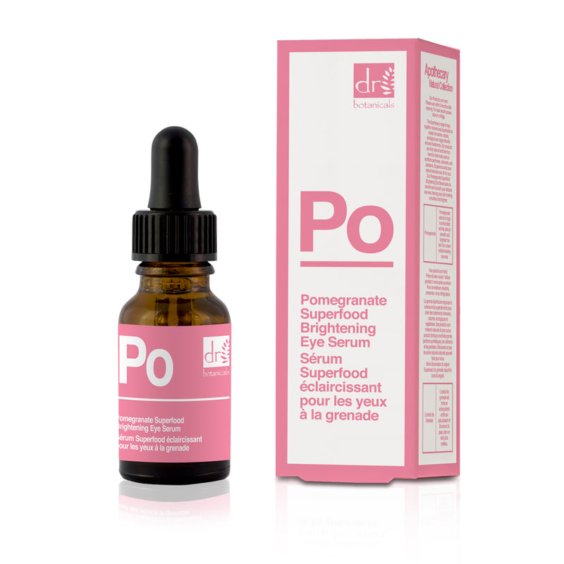 Dr Botanicals Pomegranate Superfood Brightening Eye Serum, 15ml - MyBeautyBar.co.uk