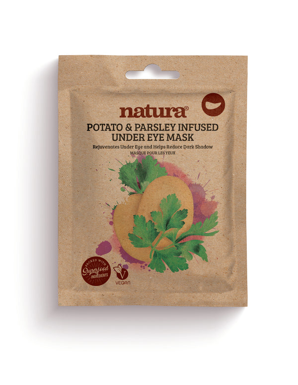Natura Potato & Parsley Infused Under Eye Mask - MyBeautyBar.co.uk