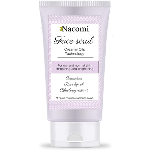 Nacomi Smoothing & Brightening Face Scrub, 85ml - MyBeautyBar.co.uk
