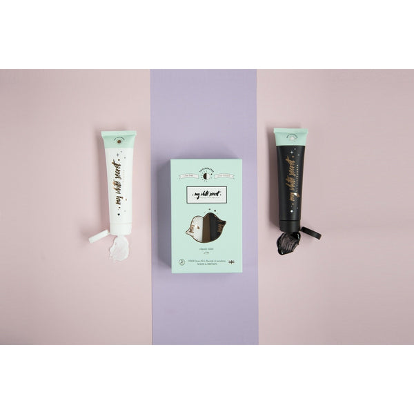 My White Secret Day & Night Toothpaste Set - MyBeautyBar.co.uk