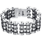 Men's Stainless Steel Extra Large Heavy Bracelet