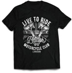 British Motorcycle Club Biker T-Shirt