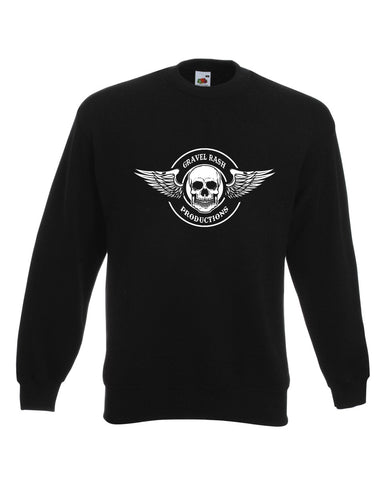 Gravel Rash productions Racer Biker Sweat Shirt