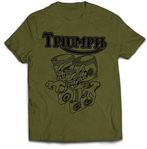 Triumph Triple Motorcycle T-Shirt
