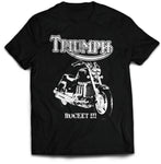 Triumph Rocket III Motorcycle T-Shirt