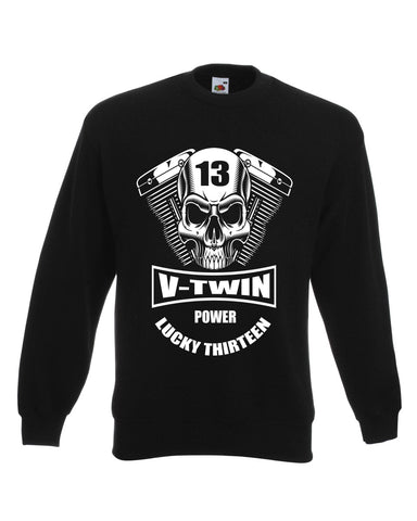 V-Twin Biker Sweat Shirt