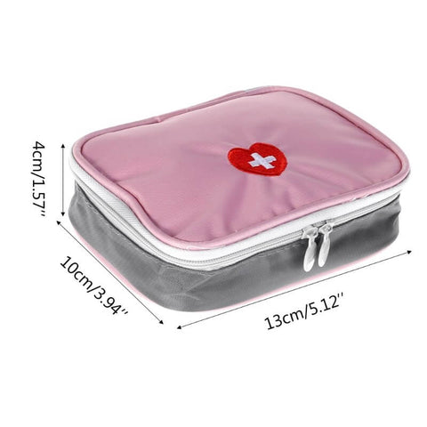 Mini Travel First Aid Bag | Medicine Storage Travel Case